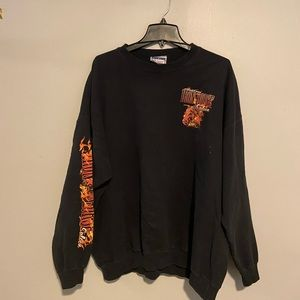 Iron horse Saloon Sweater with Awesome Graphics